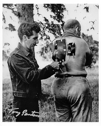 NIGHT of the LIVING DEAD - Tony Pantanella Special Effects 8x10 Autographed Photo